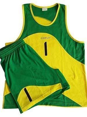 Geltonai Žali Paplūdimio Tinklinio Marškinėliai Colo Panama