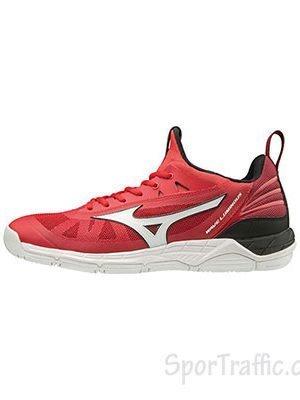 MIZUNO Wave Luminous men volleyball shoes V1GA182062 TOMATO-WHT-BLK