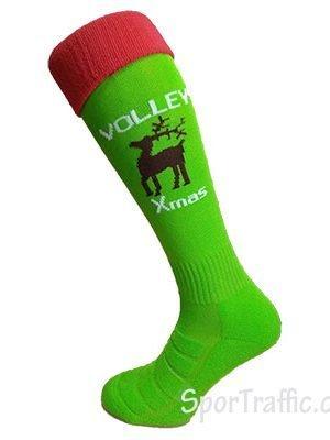 Ilgos Tinklinio Kojinės Volley Xmas