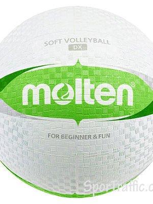 Guminis vaikų tinklinio kamuolys MOLTEN S2V1550-WG